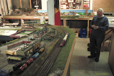 trains miniature charleroi
